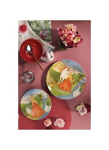 Kütahya Porselen Yemek Takımı Renkli